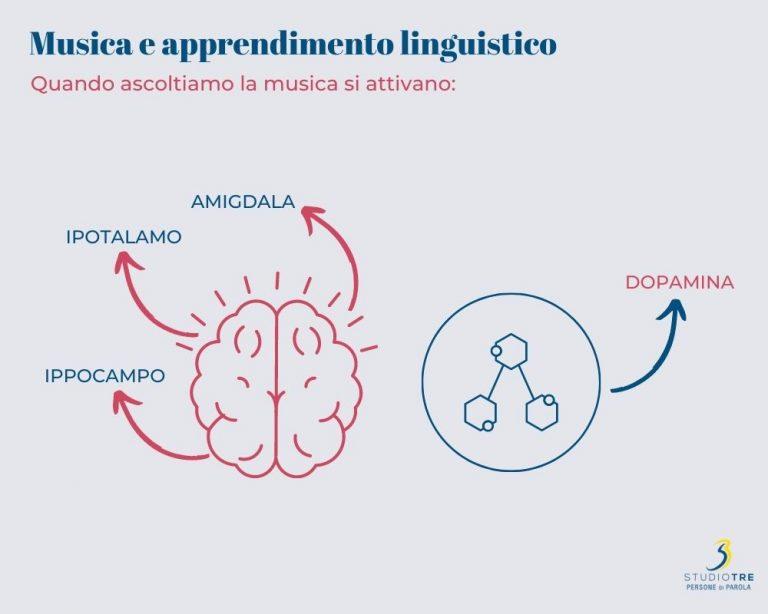 Amigdala, ipotalamo, ippocampo e dopamina si attivano quando ascoltiamo la musica